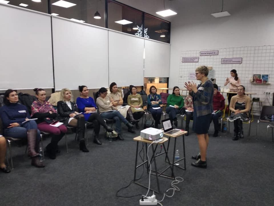 В Алматы проходит Продвинутый курс HR школы