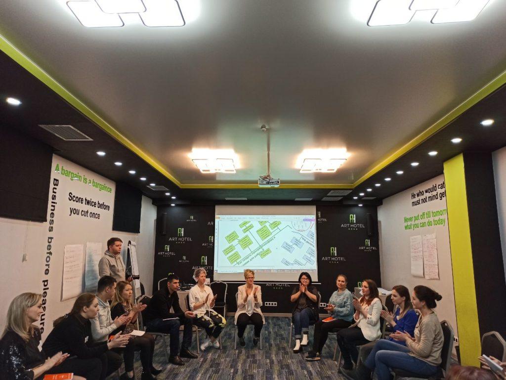 Базовый курс HR школы: завершился в Бишкеке